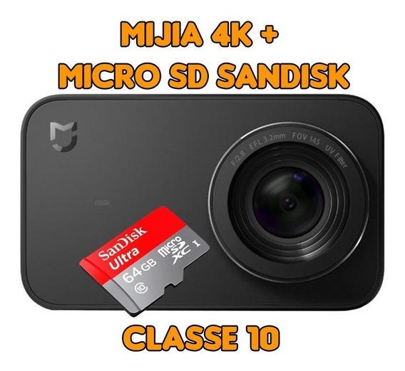 Xiaomi Mijia 4k + Micro Sd Sandisk 64gb Pronta Entrega
