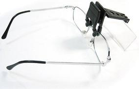 Lupa De Leitura Com Clips Para Óculos