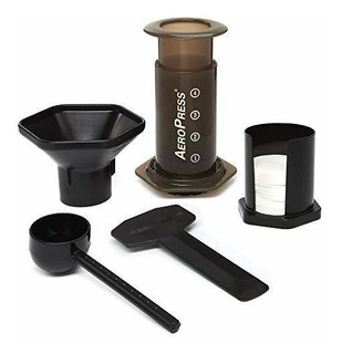 Cafetera De Aeropress Y Maquina De Cafe Espresso: Hace Rapid