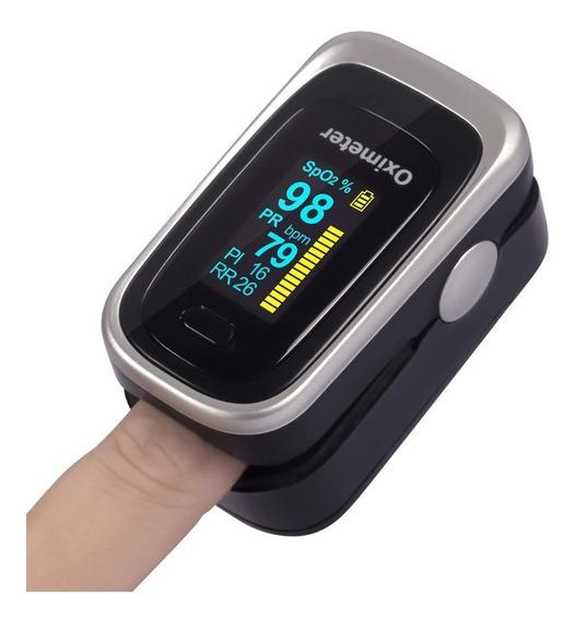 Oiosen 4 En 1 Oxímetro Pulso Dedo, Monitor Frecuencia Respir