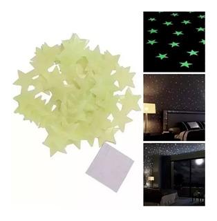 Paquete De 1000 Estrellas Fluorescentes Fosforecentes