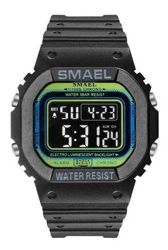 Relógio Smael Camuflado A Prova D Água