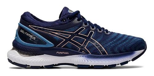 Zapatillas Asics Gel Nimbus 22 Running Mujer Azul | Mercado ...