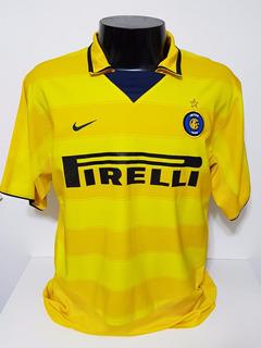 Camisa Internazionale 3rd 02-03 Vieri 32 Importada