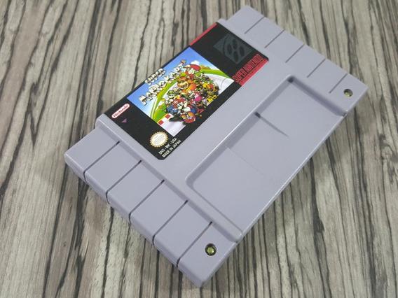 Super Mario Kart Original Repro Snes + Garantia!!!!!!!