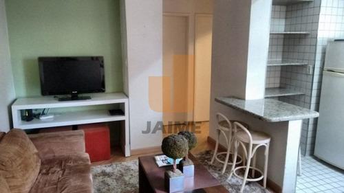Ótimo Apartamento, Mobiliado, Próximo Ao Mackenzie E Santa Casa - Bi3247