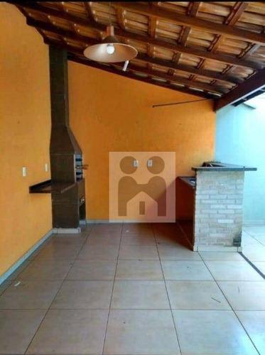 Imagem 1 de 17 de Casa Com 3 Dormitórios À Venda, 132 M² Por R$ 320.000,01 - Residencial E Comercial Palmares - Ribeirão Preto/sp - Ca1036