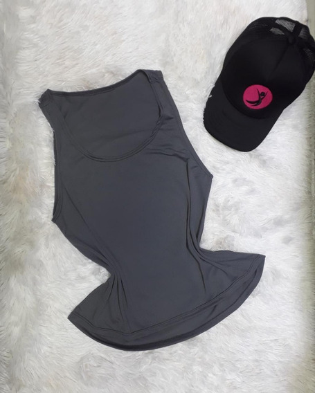 Blusa Camiseta Regata Feminina Dryft Treino Dryfit + Brinde