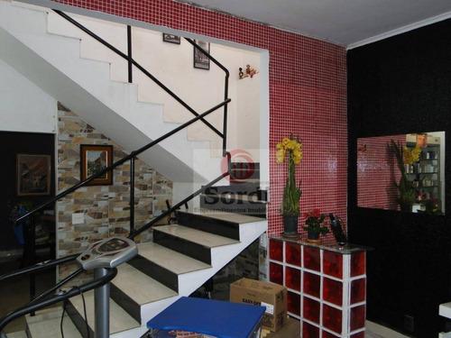 Sobrado À Venda, 203 M² Por R$ 532.000,00 - Jardim Paulistano - Ribeirão Preto/sp - So0370