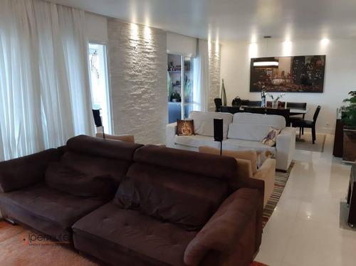 Ótimo Apartamento Com 3 Dormitórios À Venda, 171 M² - Panamby - São Paulo/sp - Ap1826