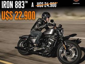 Harley-davidson Sportster 883 Iron 0km 2018 Entrega Inmediat