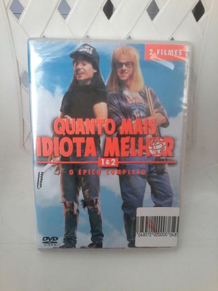 Box Dvd Quanto Mais Idiota Melhor 1 & 2 - Mike Myers