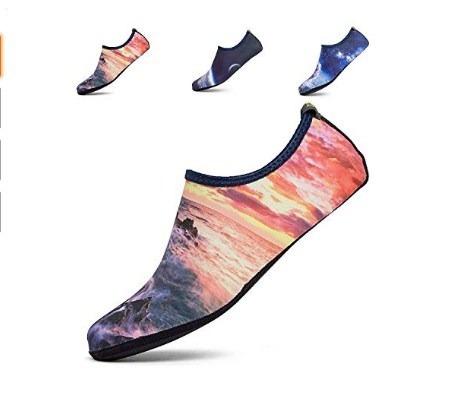 Hombres Mujeres Zapatos De Piel De Agua Amanecer Pps