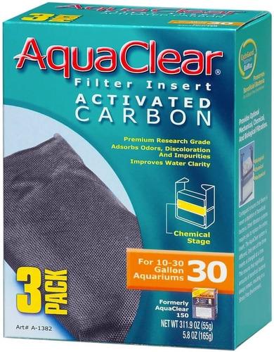 Imagen 1 de 1 de Carbón Activado Acuarios Aquaclear X 3