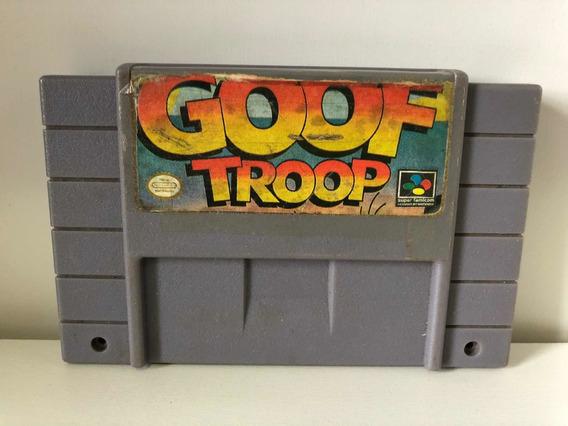 Jogo Goof Troop Pateta E Max Super Nintendo Snes