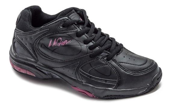 Zapatillas La Gear Mujer Niña Colegial Tenis 37 Arg / 24 Cms