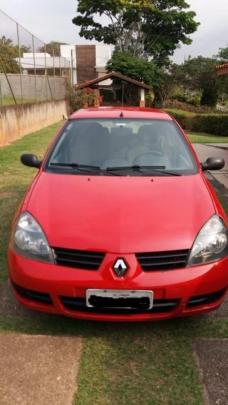 Renault Clio 1.0 16v 4 Portas 2011 Em Bom Estado