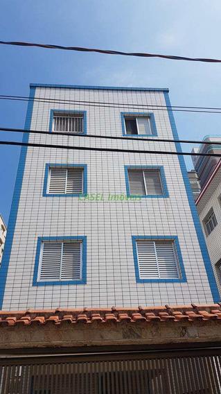 Kitnet Com 1 Dorm, Guilhermina, Praia Grande - R$ 120 Mil, Cod: 803502 - V803502