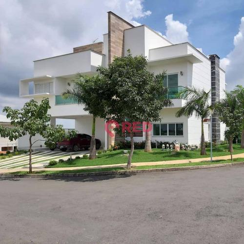 Casa Com 4 Dormitórios À Venda, 630 M² Por R$ 4.800.000,00 - Condomínio Saint Patrick - Sorocaba/sp - Ca0017