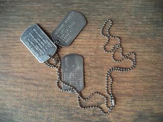 Raro Dog Tag U. S. Army - Testemunha De Jeová