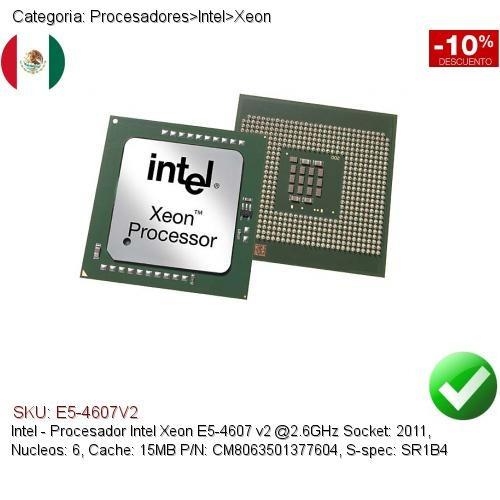 Intel Xeon E5-4607 v2 2.6 GHz 6 Core 15MB SR1B4 LGA 2011 Server CPU