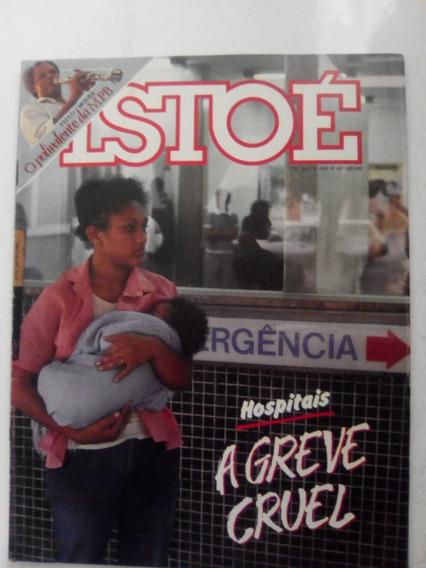 Revista Istoé 447 Paulo Moura Alcione Roraima Cauby Bob 1985