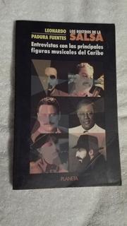 Libro Los Rostros De La Salsa, Leonardo Padura Fuentes.