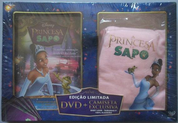 Dvd A Princesa E O Sapo + Camiseta Baby Look P - 2010
