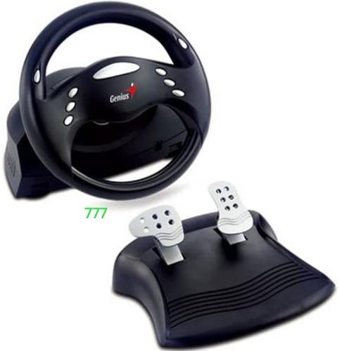 Imagen 1 de 1 de Volante Genius Speed Wheel 3, Usb, Para Pc, Perfecto Estado