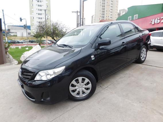 Toyota Corolla 1.8 16v Xli 2012preto Flex 4p