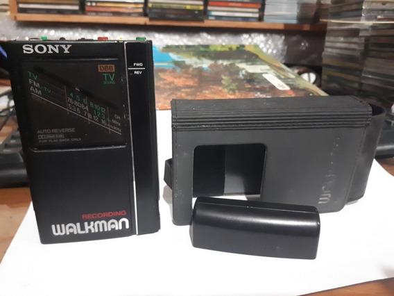 Antigo Raro Radio Cassette-corder Wm-f404 Estado De Novo