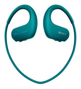 Sony Nw-ws413 4gb Azul. À Prova De Água 12hrs Walkman Mp3