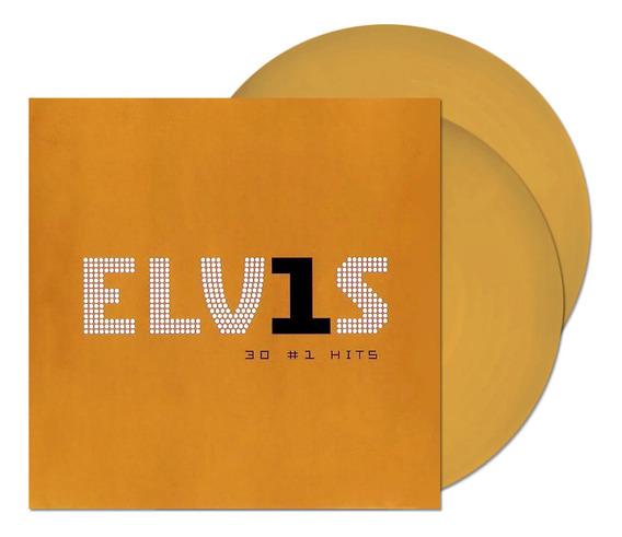 Lp Elvis Presley 30 #1 Hits Ed Limitada Gold Duplo Importado