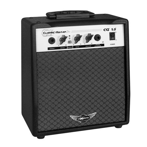 Amplificador Cg15 Preto 6 Polegadas 15w 4 Ohms Voxstorm
