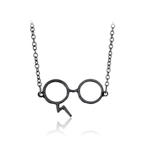 Harry Oleiro Com O Pequeno Óculos Colar Pingente Dom Menina