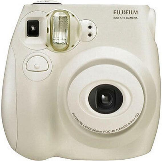 Câmera Instantânea Tipo Polaroid Instax Mini 7s + 10 Filmes