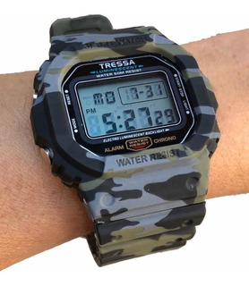 Reloj Tressa Zulu Digital Wr 50mts. - Casa Tagger