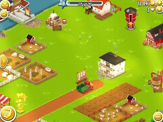 Fazenda Hay Day Nível 33