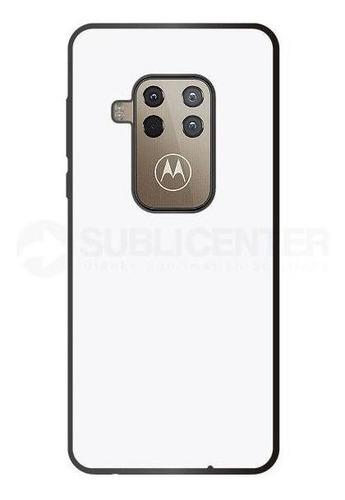 Imagen 1 de 1 de Funda Carcasa Case Sublimación Motorola One Zoom Tpu