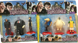 Hotel Transylvania Blister X 6 Muñecos - Para Jugar / Adorno