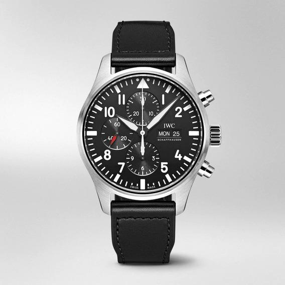 Peça Relógio - Cristal De Safira Ar - Iwc Crono Pilot 3777