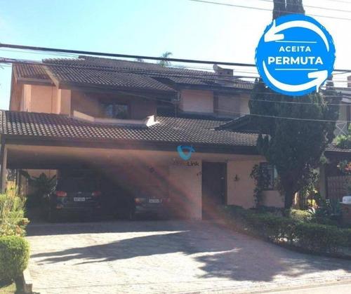 Casa À Venda, 408 M² Por R$ 2.500.000,00 - Residencial Onze (alphaville) - Santana De Parnaíba/sp - Ca1458