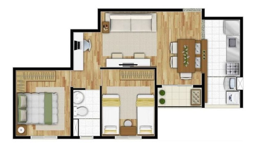 Imagem 1 de 23 de Apartamento - Ref: 4135