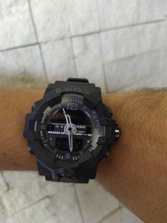 Reloj Gshock Caballero Mica Grande Digital Y Análogo Oferta