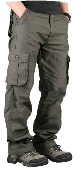 Pantalon Cargo Gabardina Reforzada Hard Work Trabajo