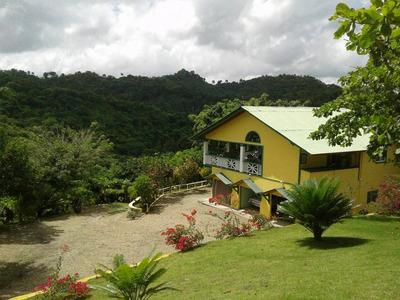 Hermosa Villa Campestre En Venta Carretera Jamao Moca