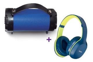 Parlante Bluetooth Usb/tf/fm/aux + Audífono Ext Bt