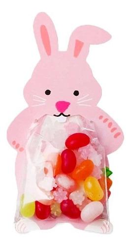 10 Bolsas De Conejo Para Dulces, Sorpresas, Fiestas Y Más