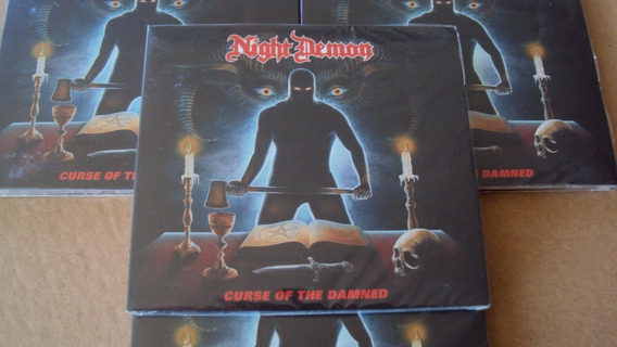 Cd Night Demon - Curse Of The Damned / Lacrado