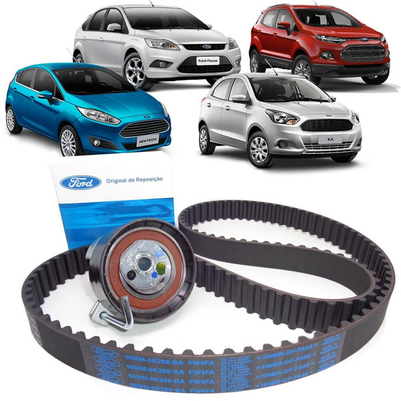Kit Correia Dentada Tensor Ford New Fiesta Ka Focus Ecosport
